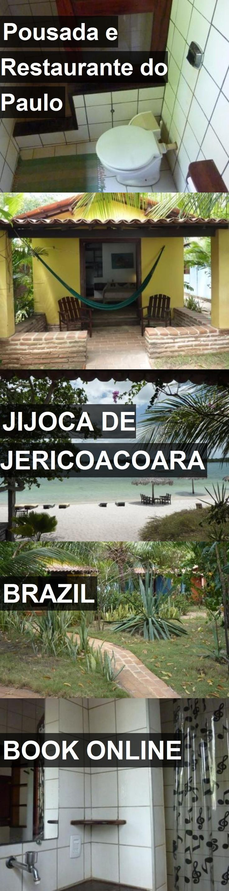 Hotel Pousada e Restaurante do Paulo in Jijoca de Jericoacoara, Brazil. For more information, photos, reviews and best prices please follow the link. #Brazil #JijocadeJericoacoara #travel #vacation #hotel