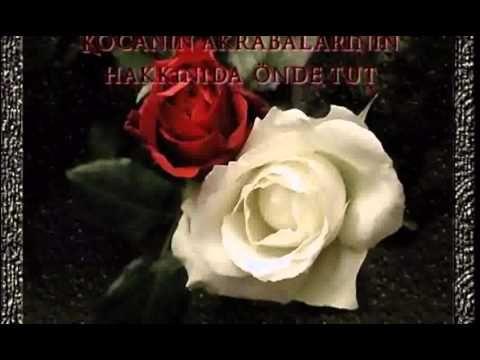 Genc Kizlara - Bir Annenin Kizina Verdigi Önemli Nasihatler - Gökhan & Zeynep - YouTube
