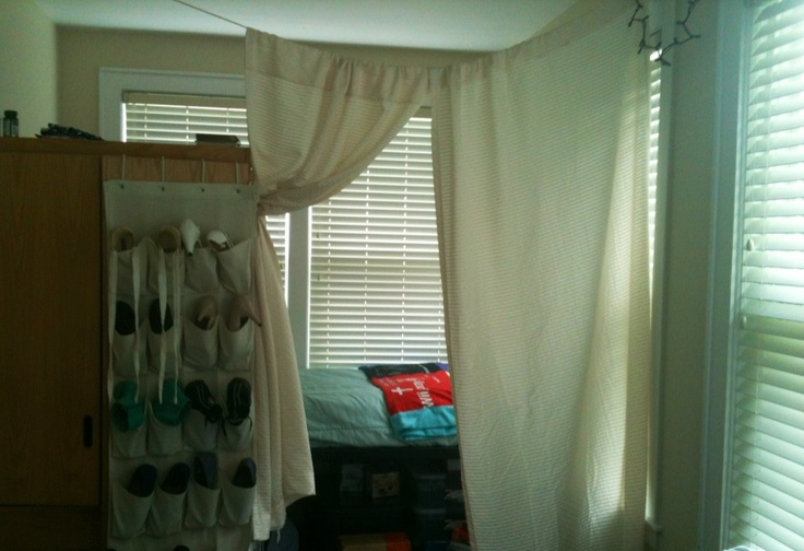 17 Best Images About Dorm Room Dividers On Pinterest
