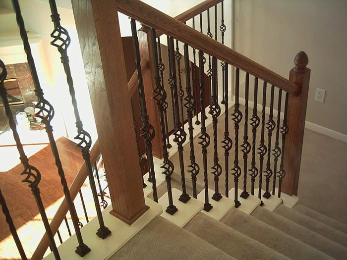 Wrought Iron Interior Handrails Stair Railing