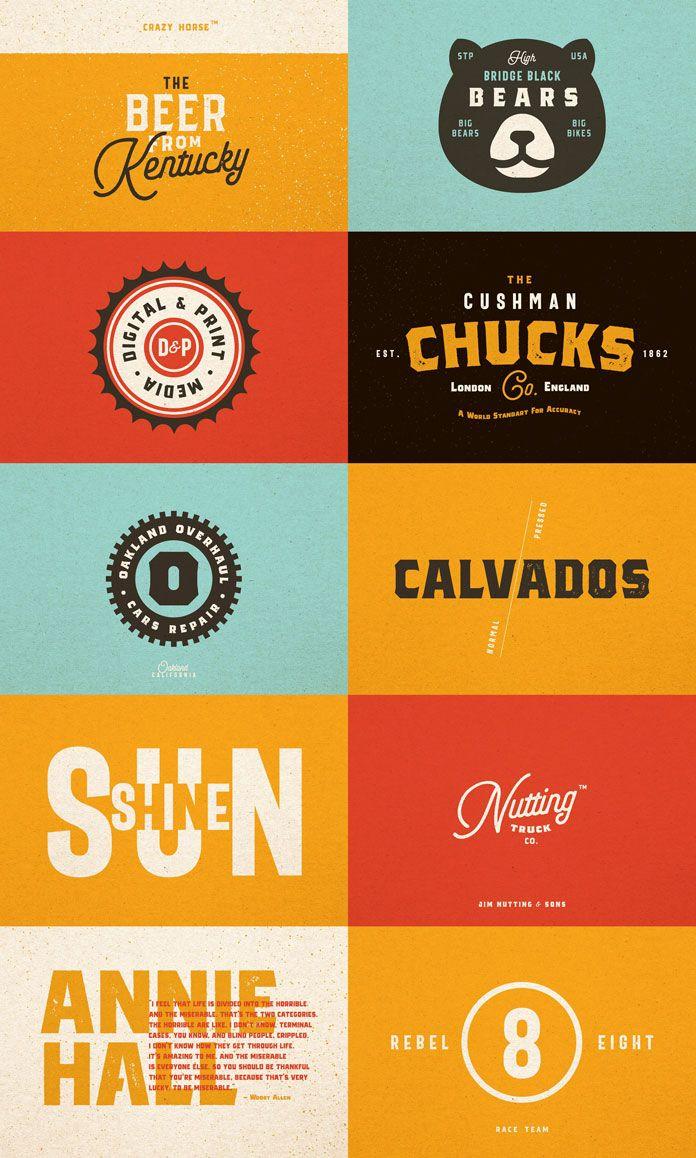 The Bartender Collection Vintage Fonts Web Design Font Sport Poster Design