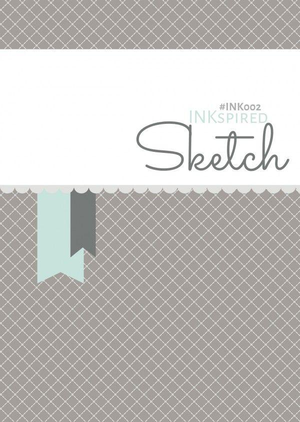 Blog Hop October 5th | INKspired Sketch #INK002