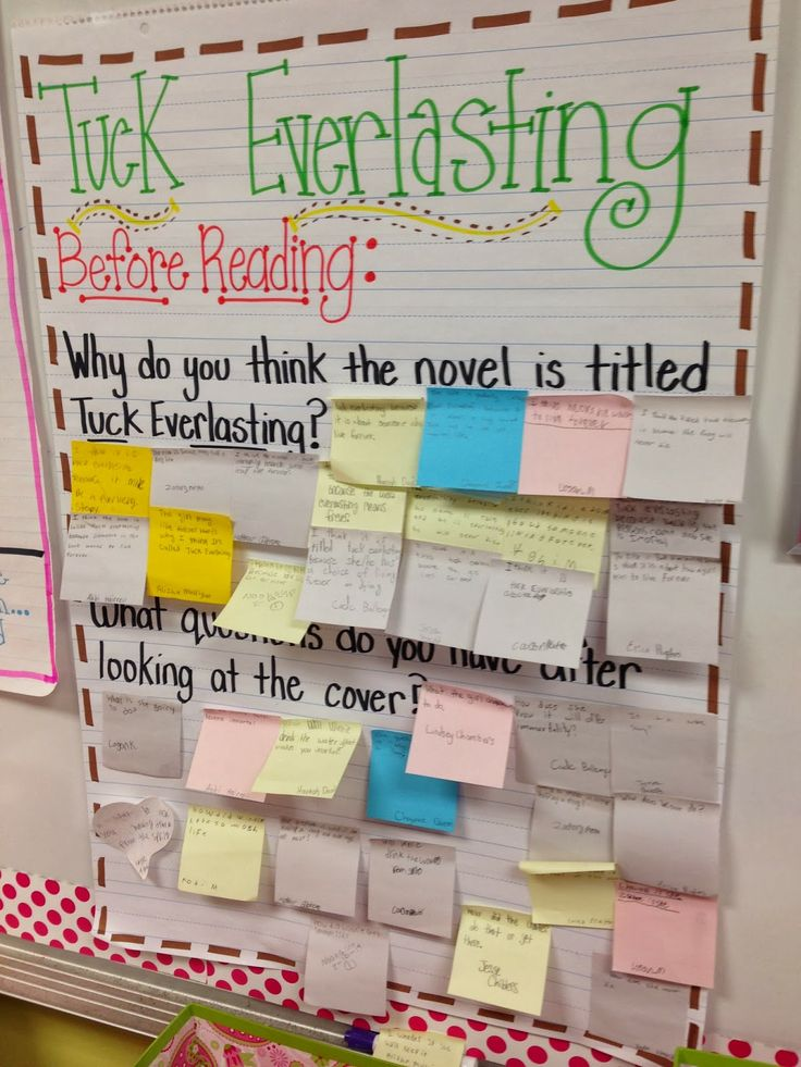 Life in Fifth Grade: Tuck Everlasting Day One & Drawing Conclusions