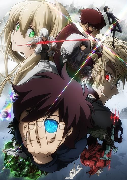Kekkai Sensen! This anime is full of action, drama, and amazing effects! Lots of suspense, but the flow goes really well overall, and the characters are too die for <3 they are so unique and adorable! Please watch! (SYL)