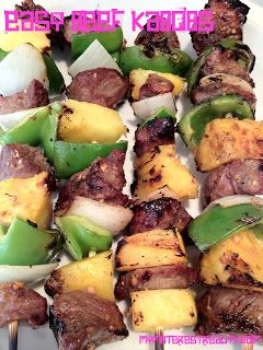 My Pinterest Reality: Easy Beef Kabobs