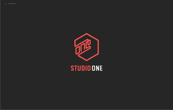 Studio One: Design Inspiration, Symbols Design, Logos Inspiration, Logos Design, Graphics Design, Logotyp, Galleries 126, Creative Logos, Inspiration Galleries