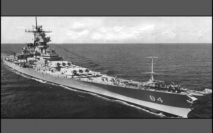 Battleship Wisconsin BB-64