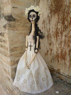 Madame Macabre: OOAK, unas muñecas góticas muy especiales.
