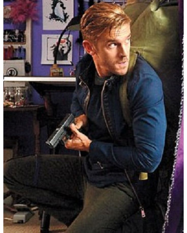 The Guest Dan Stevens (David Collins) Jacket