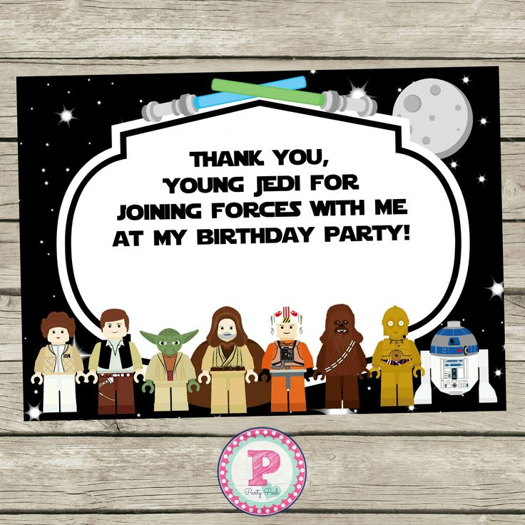 9 best images about Star Wars Party Ideas – Star Wars Party Invitation