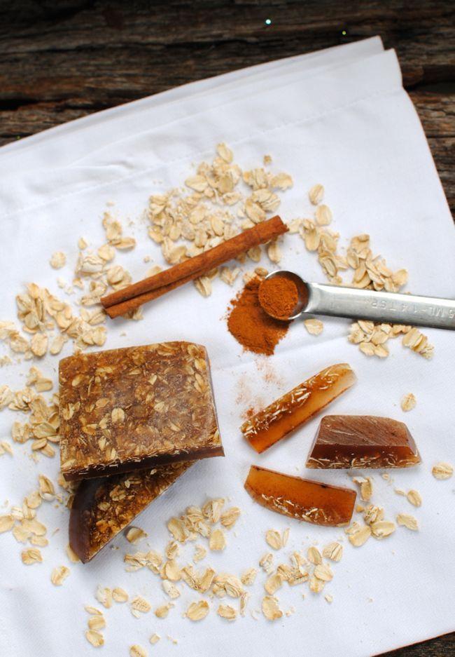Cinnamon and Oatmeal Soap | Homemade Soap 4 Ways | HelloGlow.co