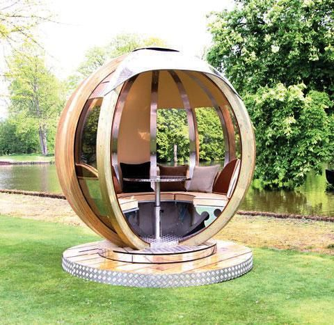 The g pod outdoor room outdoors pinterest for Outdoor pod room