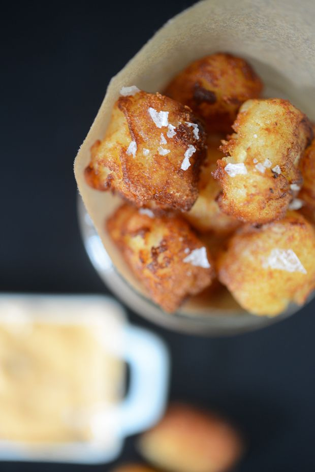 Tater tots, Homemade tater tots and Cashmere on Pinterest