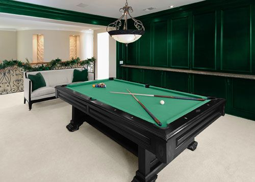 Charming I Will Have A Pool Table Like This In My Basement Someday.