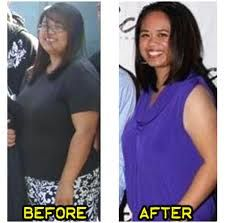 Before and After weight loss success with Skinny Fiber Diet Pills.