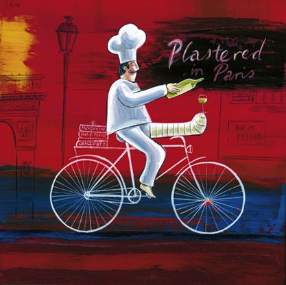 Plastered in Paris - Frans Groenewald