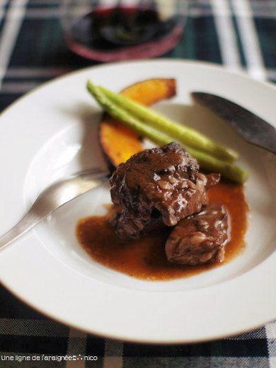 牛すね肉の赤ワイン煮込み。 by ささきのりこ。さん | レシピブログ ...