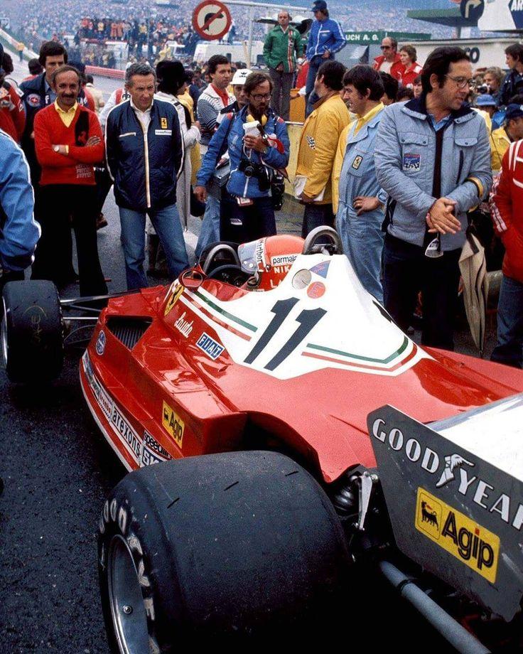 Niki Lauda Ferrari at the 1977 Austrian Grand Prix