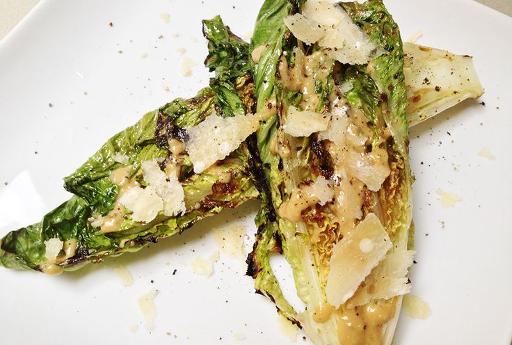 Grilled Caesar Salad | Recipe