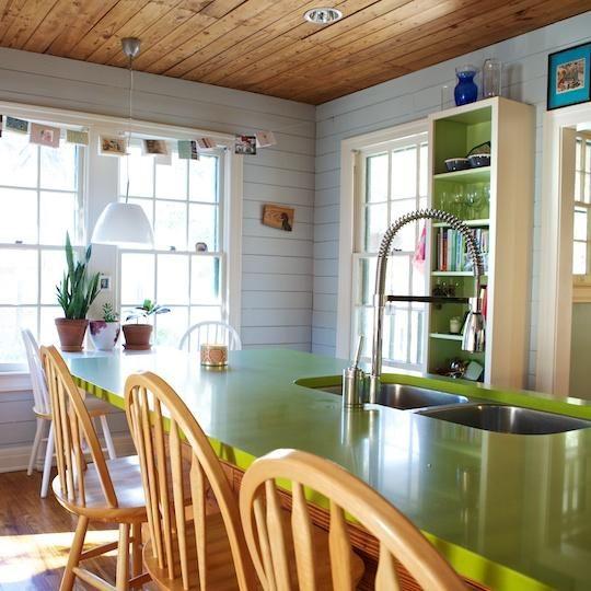 Dorian Green Counter Top Kitchens: 1000+ Ideas About Green Countertops On Pinterest