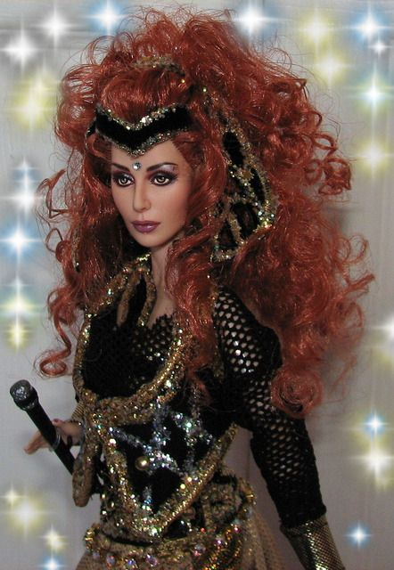 Cher Believe Tour OOAK female fashion doll Love her!