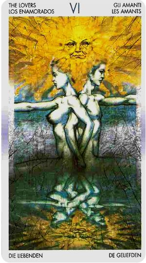 Free Daily Tarotscope -- Jun 23, 2014 -- the Lovers --  Venus moves into light-hearted free-spirited Gemini today, the sign of its esoteric rulership. Venus in Gemini understands the importance of sharing ideas and communicating feelings, which are the foundations upon which happy, healthy relationships are built. ... (more)...