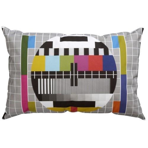 TV Test Pillow/TV Test Polštář