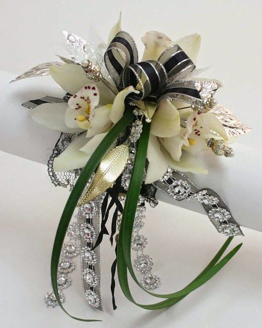 2015 prom corsages | On Trend-Prom 2015-All about That BLING!