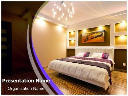 24 best interior design powerpoint template images on for Bedroom design template