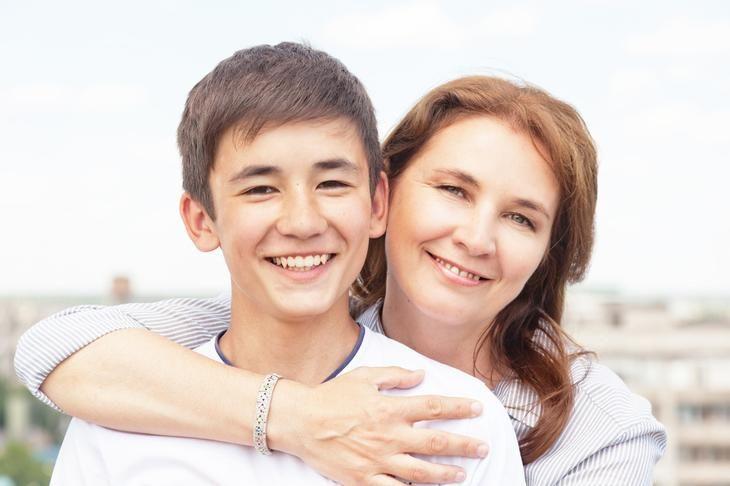 Картинки мама с сыном подростком