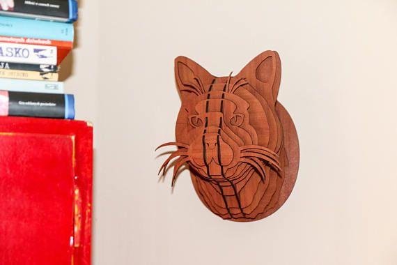 Las 25 mejores ideas sobre rompecabezas de madera en for Trofeos caza decoracion