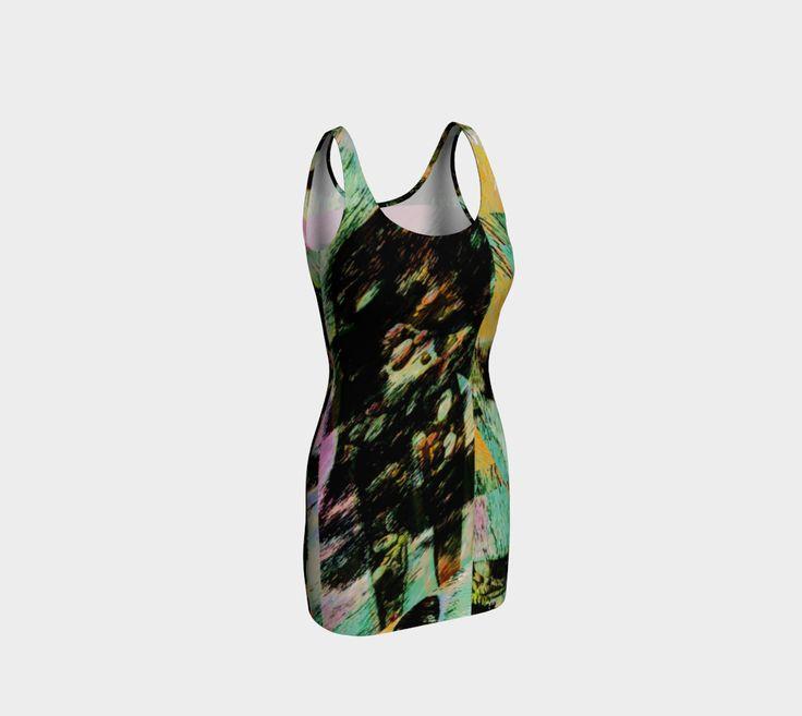 """Bodycon+dress+""""Mysterious+Friend""""+by+Ingrid+Kamerbeek"""