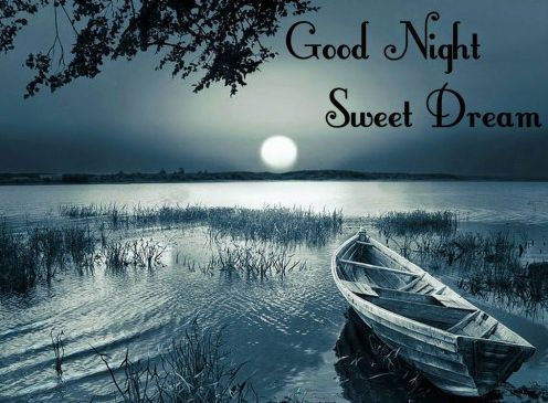 Wish Good night with sweet dreams