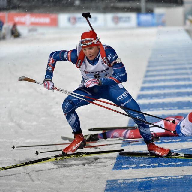 Il ceco Ondrej #Moravec ai Campionati del mondo di #Biathlon a Kontiolahti, in #Finlandia