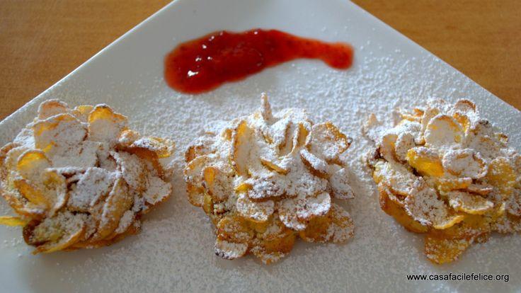 Rosa del Deserto, biscotti. on http://casafacilefelice.org