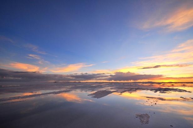 ウユニ塩湖。。ずっと眺めてそう。。。