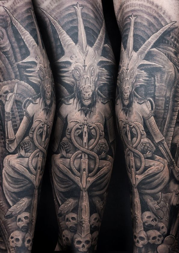 baphomet tattoo - Google Search