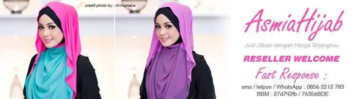 Asmia Hijab adalah spesialis grosir jilbab online dari Kota Bekasi.   Website : http://www.asmiahijab.com/