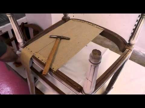 Le Sanglage - Cours de Tapisserie en ligne - YouTube