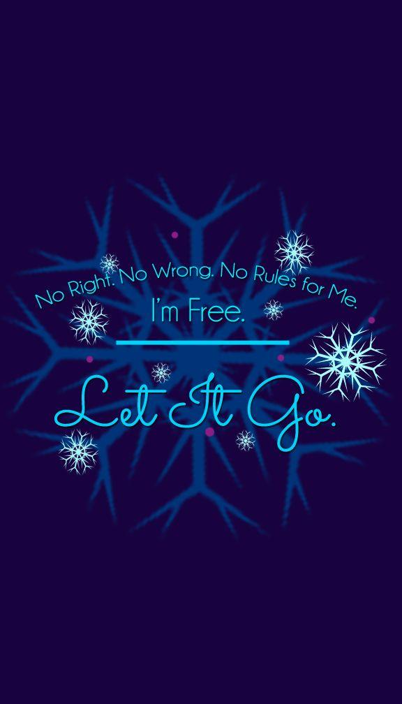 Let It Go Quote Frozen Elsa Letitgo