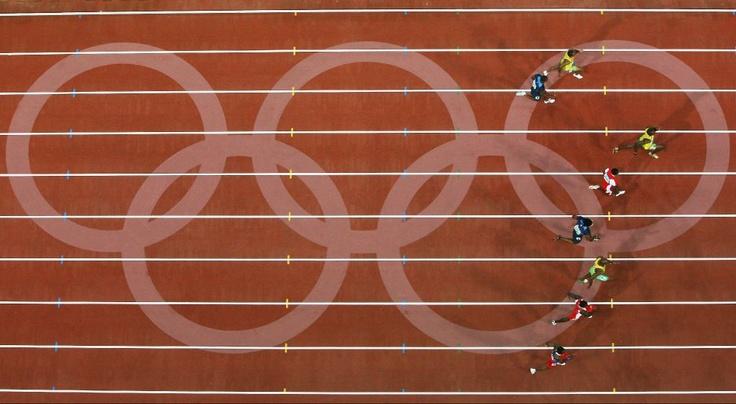 Usain Bolt Wins / 2008 Olympics Beijing