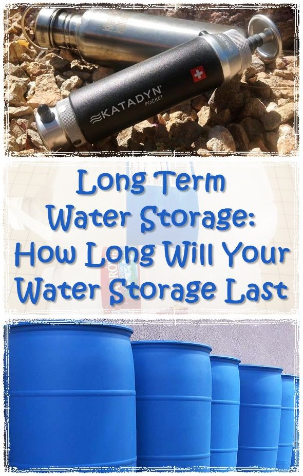 Long Term Water Storage How Long Will Your Water Storage Last - How much water do  sc 1 st  Pinterest & 200+ best Water Preps images by Preppers Survive on Pinterest ...