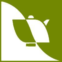 Half Cup of Tea and Half Teapot to make a stylised Tea Leaf. The whole as the Yin & Yang #logo / Mezza tazza di Tè e mezza Teiera a formare una Foglia di Tè stilizzata. Il tutto come lo Yin e lo Yang #logo - (Associazione Italiana Cultura del Tè)