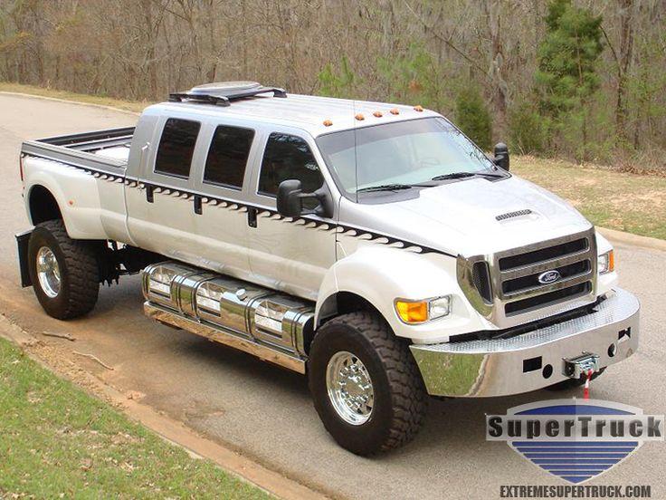 Custom Ford F650 V Semi Truckslifted