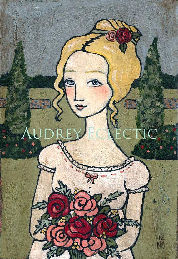 PRINT Emma Woodhouse Jane Austen heroine aud 20.42