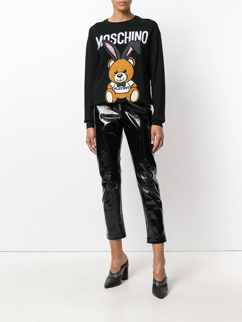 Moschino Suéter 'Playboy Toy Bear'