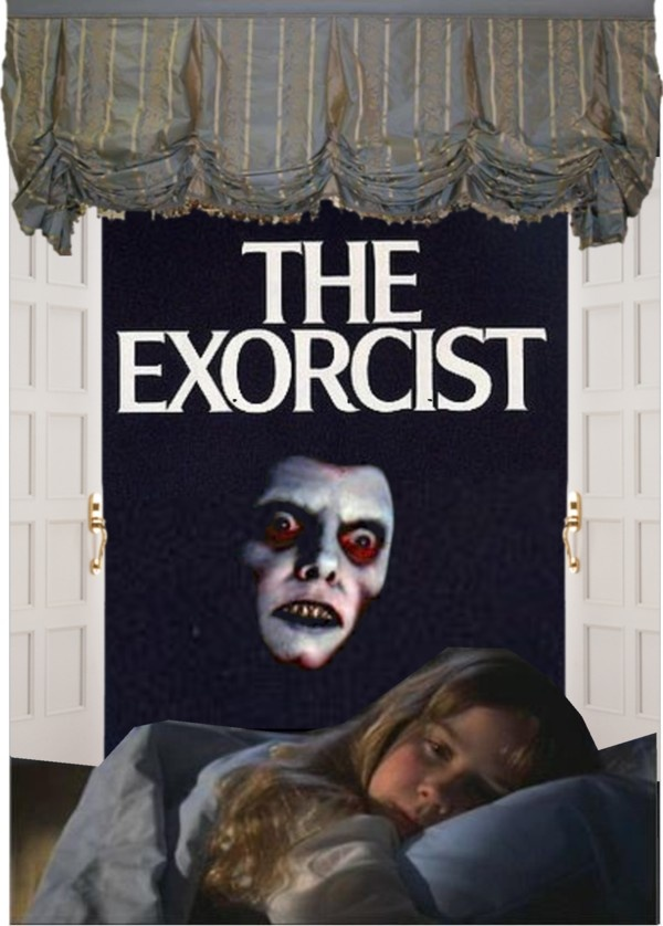 """the exorcist"" by jenk ❤ liked on Polyvore"