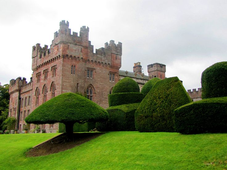 Hutton-in-the-Forest Castle near Penrith, Cumbria, England