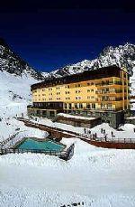Ski Resort in Portillo, Chile - Oldest Ski Resort in South America. #HipmunkBL