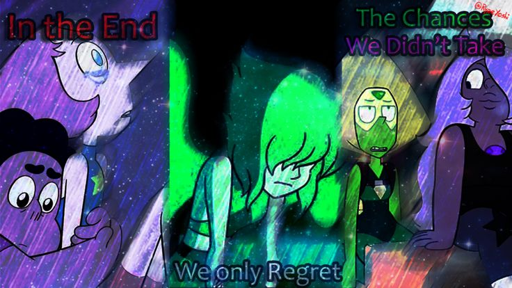 In the End.. We Only Regret...The Chances we didn' by Ryre1